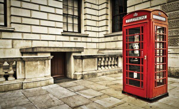 Fotomural Londres, Cabina Telefónica 1910 VE