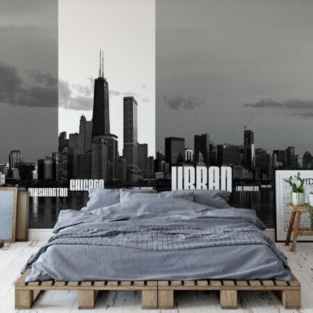 Fotomural Skyline Cities 052 VE