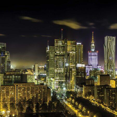 Fotomural Varsovia Nocturna 1169 VE