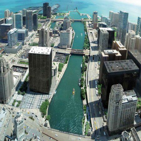Fotomural Skyline Chicago 148 VE