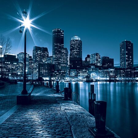 Fotomural Boston Azul 283 VE