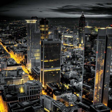 Fotomural Frankfurt Nocturno 326 VE