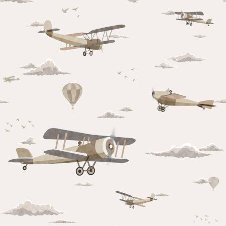 mural aeroplano Sambori 152-1